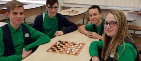 Tarpmokyklinės šaškių varžybos