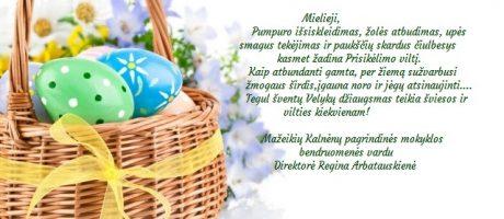Linksmų šv. Velykų!
