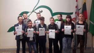 """2017-11-17 Informatikos ir informatinio mąstymo konkursas """"Bebras"""""""