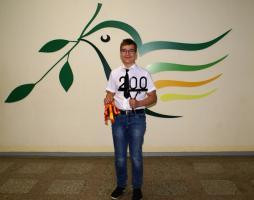 Nedas Šarmanauskas 7c, 200 dešimtukų, 2018-06-12