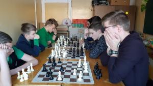 2019-01-22 Rajono šachmatų varžybos