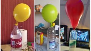 2021 04 02  Eksperimentas Pripusk baliona be oro 3