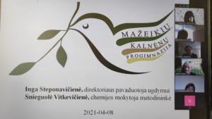 """2021-04-08 Metodinė diena """"STEAM – integruotas ugdymas"""""""